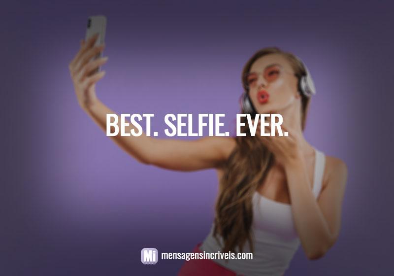 Best. Selfie. Ever.