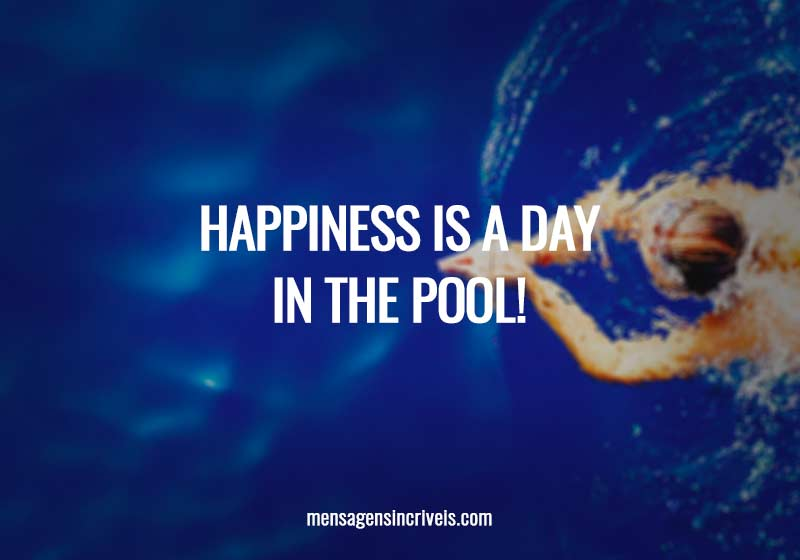 Happines is a day in the pool!