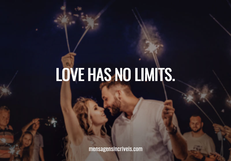 Love has no limits.
